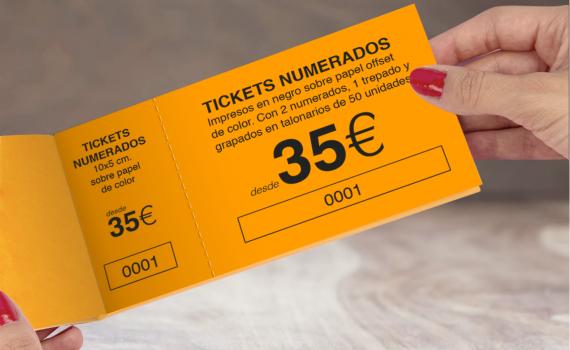 Ticket y entradas